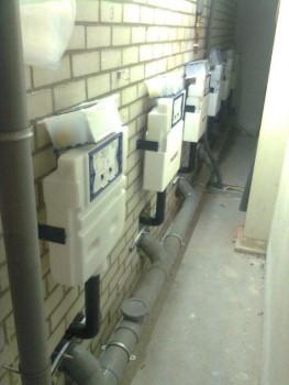 Renovatie toiletgroepen Airport